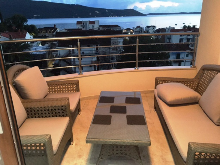 Apartments in Meljine with spectacular sea view