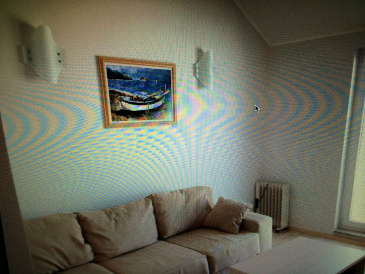 A furnished apartment in Krasici