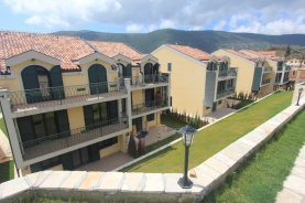 Townhouses in complex