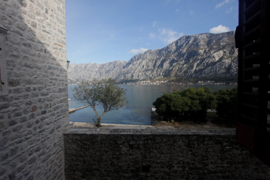 House on the front line in Kotor